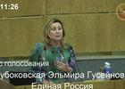 Выступление Эльмиры Глубоковской по вопросу рассмотрения в третьем чтении законопроекта о запрете дрифтерного лова тихоокеанских лососей